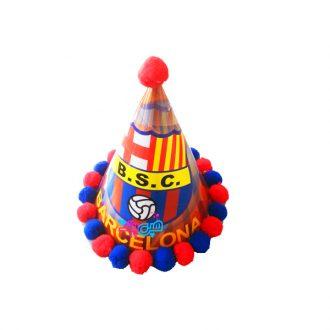 کلاه تم تولد بارسلونا