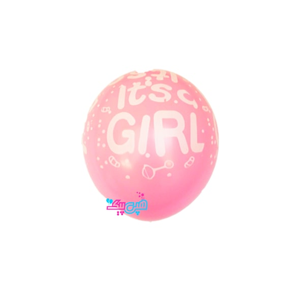 it is girl latex balloon-