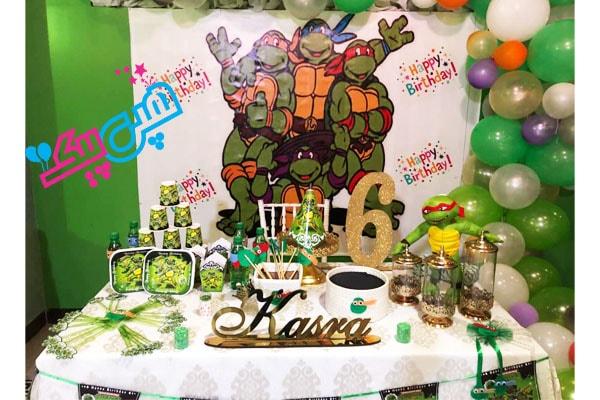 تم تولد لاکپشت نینجا