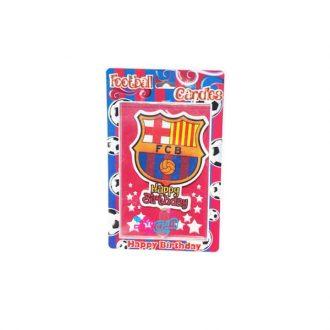 شمع تولد بارسلونا