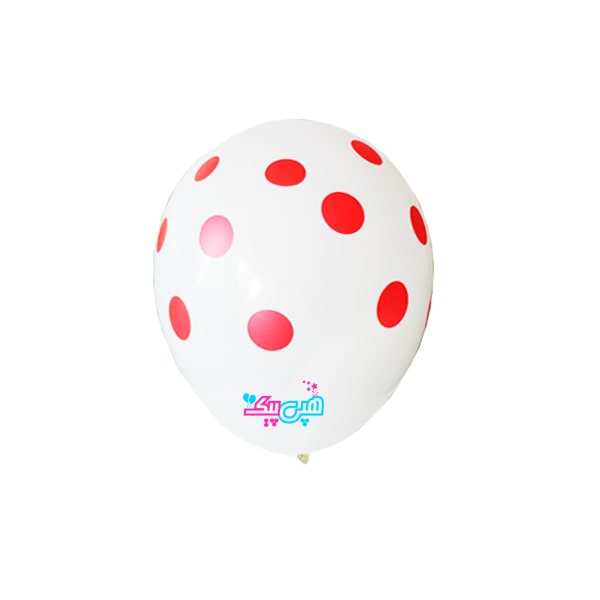 white-spotty-red-latex-balloon-