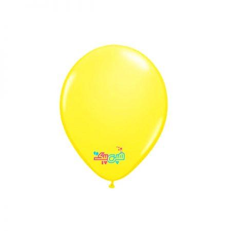 بادکنک تم تولد زرد