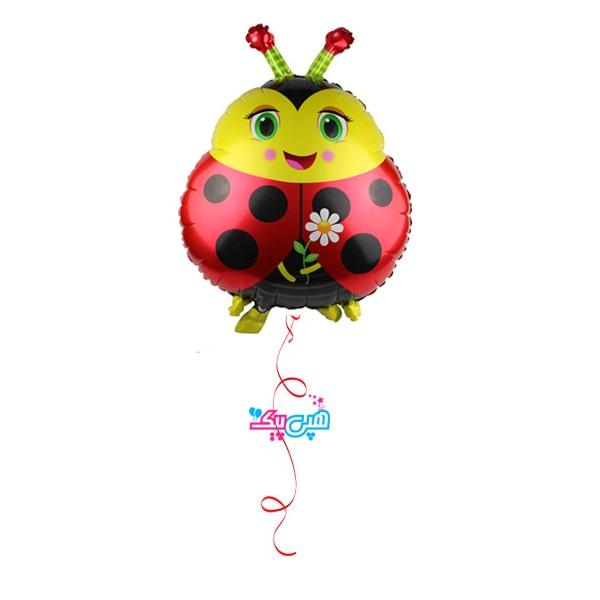 Ladybird-foil-helium-balloon-