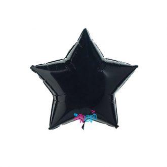 بادکنک فویلی ستاره مشکی