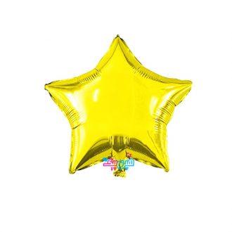 بادکنک ستاره طلایی متوسط