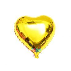 فویلی قلب بزرگ طلایی