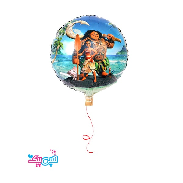 moana helium foil balloon-