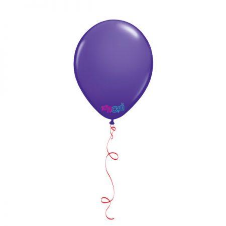 بادکنک هلیومیتم تولد بنفش