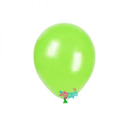 بادکنک لاتکس سبز روشن