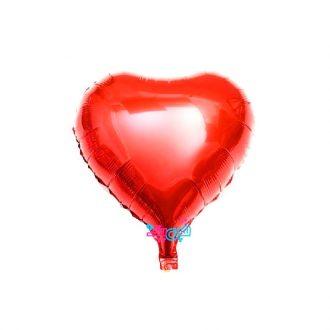 فویلی قلب بزرگ قرمز