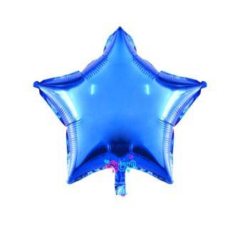 بادکنک فویلی ستاره آبی
