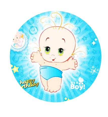 تم تولد بیبی پسر