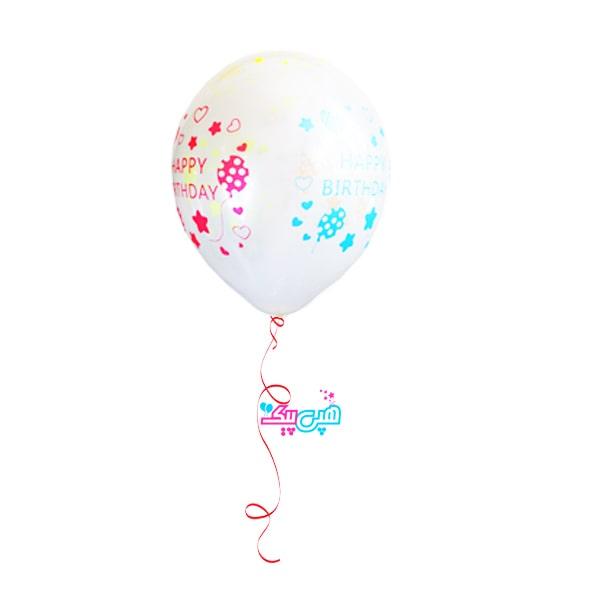 glasses balloon happy 4 color helium-