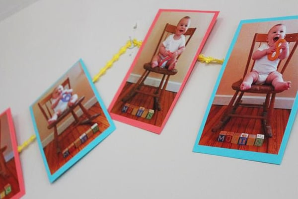 چسباندن-عکس-کودک-بر-روی-دیوار-min