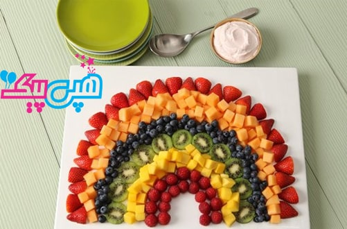 چیدمان-میوه-های-رنگی-