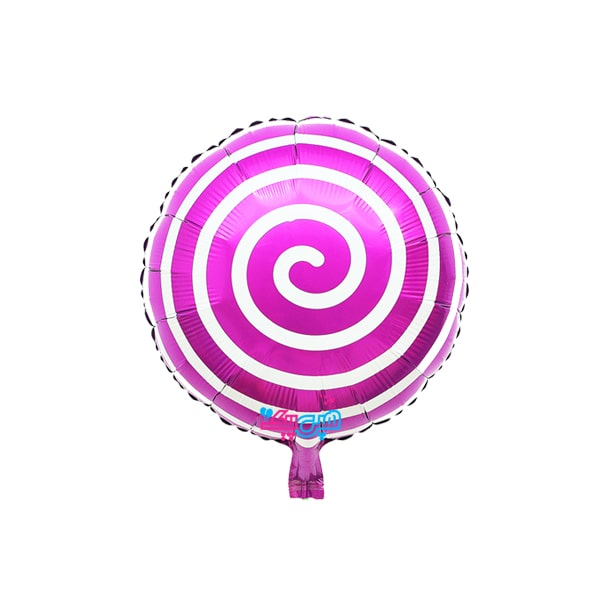 Purple-candy-foil-balloon-