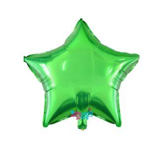 بادکنک ستاره سبز روشن