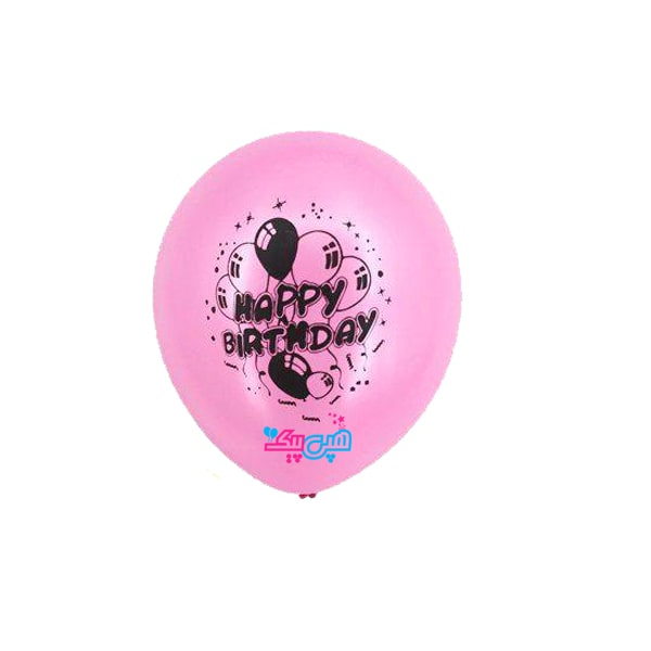 pink-latex-balloon-with-happy-black-