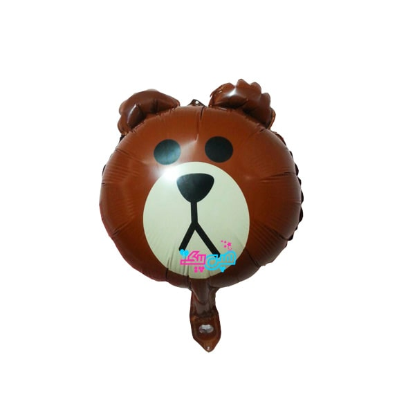 teddy little foil balloon-min