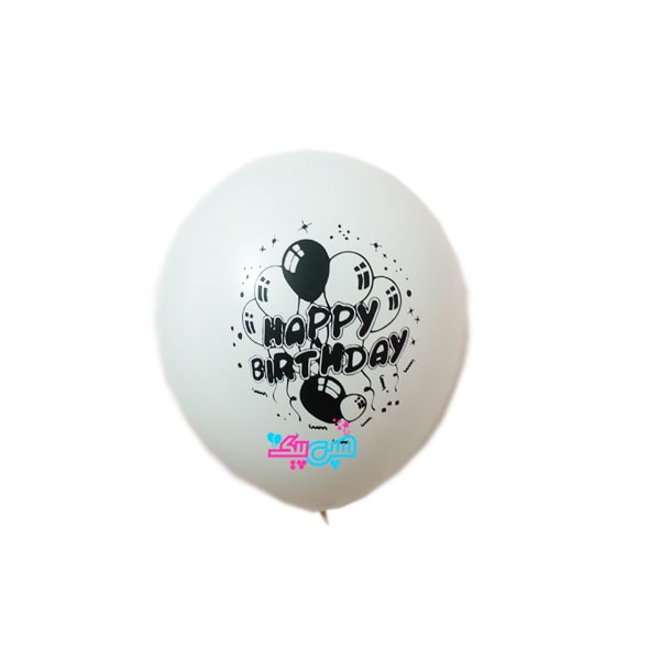 white-latex-balloon-with-happy-black
