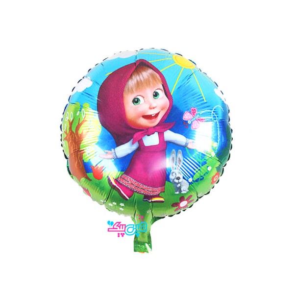 misha round foil balloon-