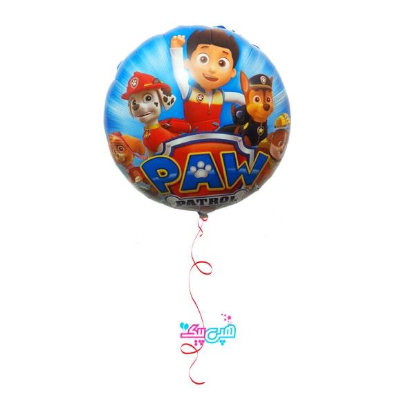 paw patrol foil round helium-min
