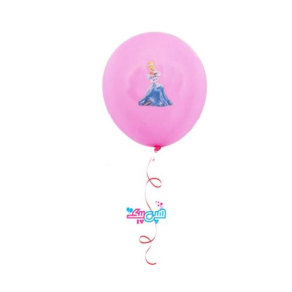 cinderella helium latex balloon-