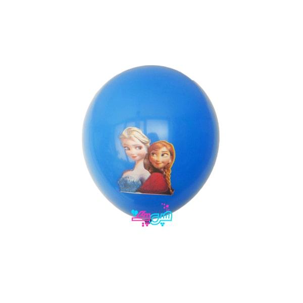 frozen latex balloon-