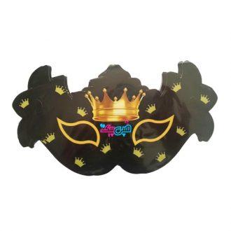 نقاب تاج مشکی