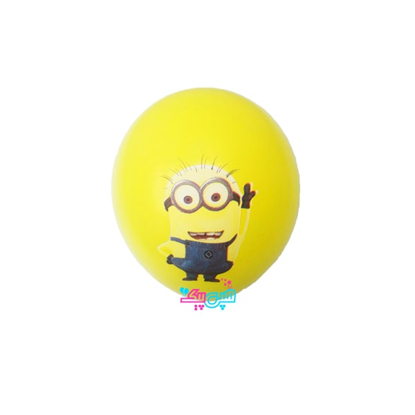 minion latex balloon