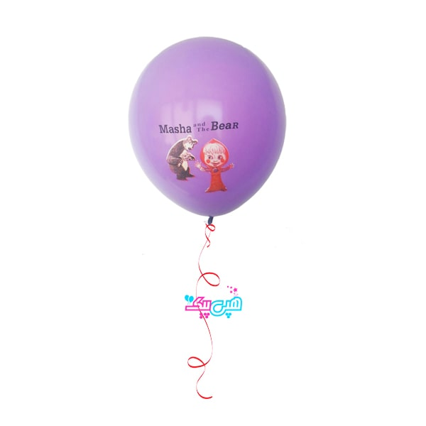 misha helium latex balloon-