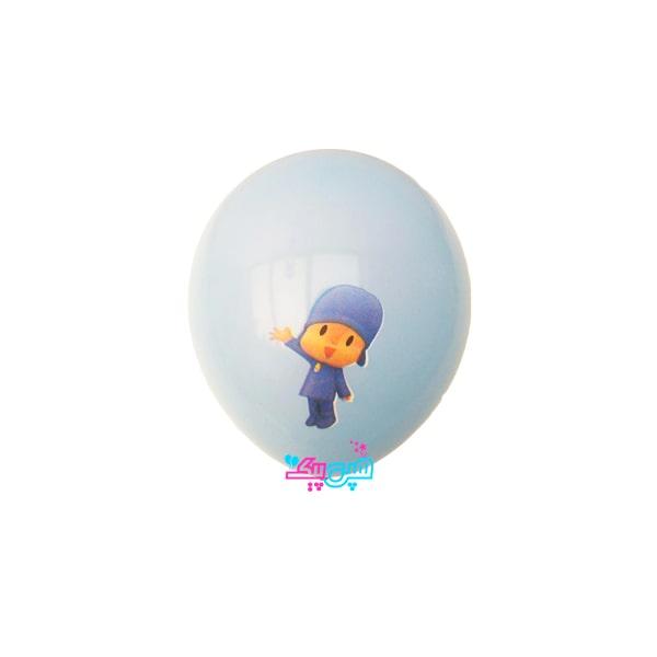 pocoyo latex balloon-