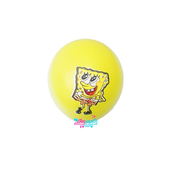 sponge bob latex balloon-
