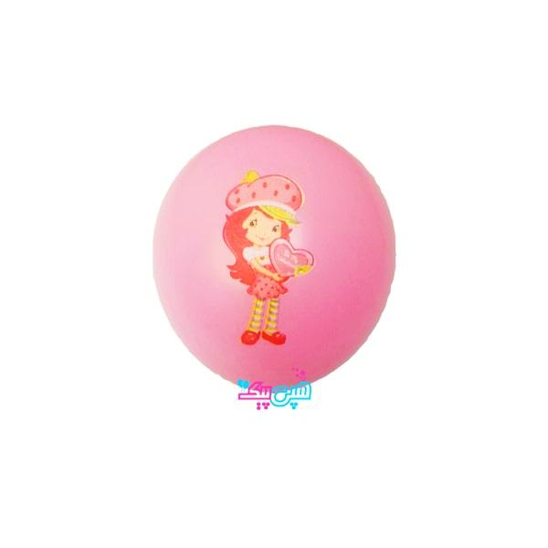 straberry ltex balloon-