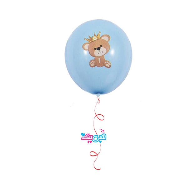 teddy boy helium latex balloon-