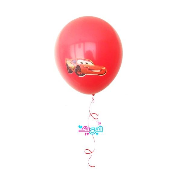 the cars latex helium balloon-