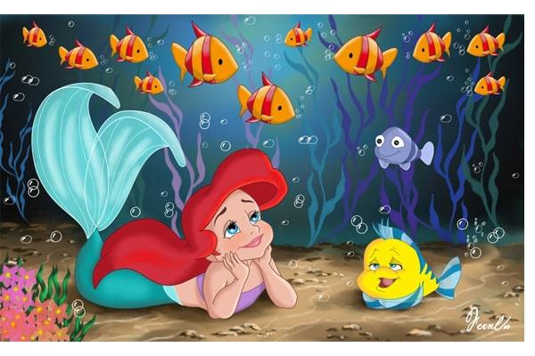 داستان پری دریایی کوچولو-