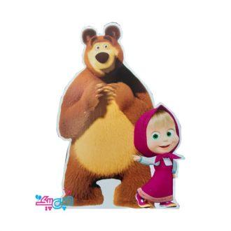 استند میشا و خرسه