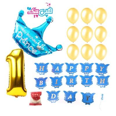 پکیج تاج آبی و عدد تولد