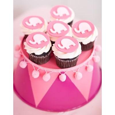 کاپ کیک های فیل-