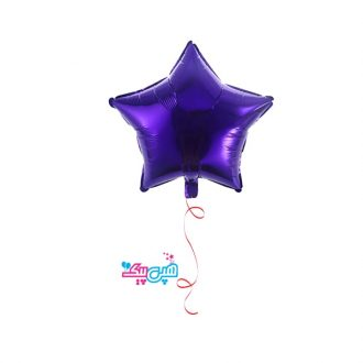 بادکنک هلیومی ستاره بنفش