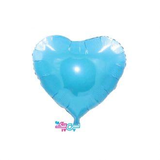 بادکنک قلب آبی روشن
