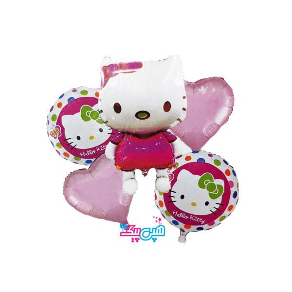 kitty 5 foil balloon-