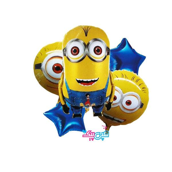 minion 5 foil baloon-
