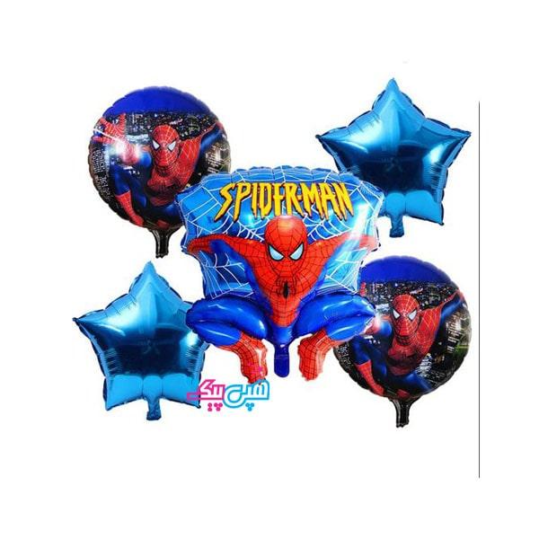 spiderman 5 foil balloon