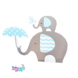 استند فیل آبی رومیزی