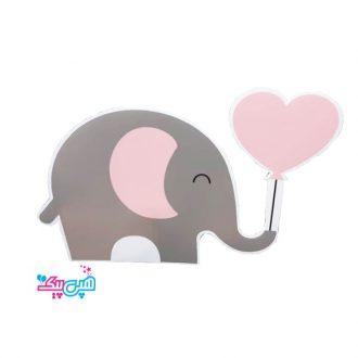 استند فیل صورتی