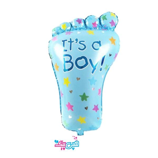 footprint baby boy-