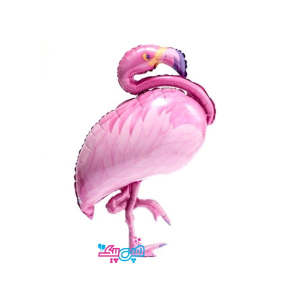 flamingo foil balloon-