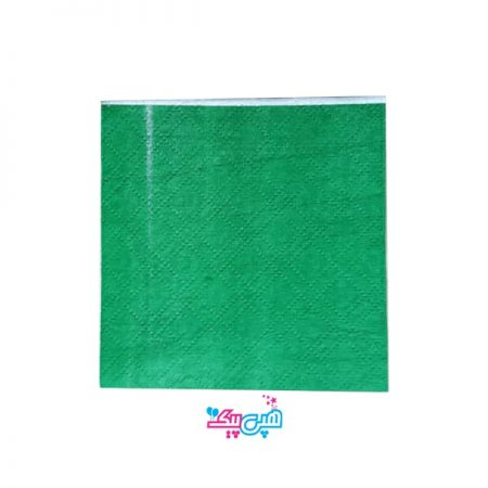 دستمال سبز تیره